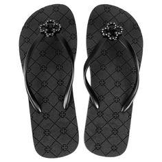 Chinelo Capodarte Logo Hot Fix - Prata Flip Flops, Sandals, Hot, Fashion, Women's Flip Flops, Shoes, Outfits, Ladies Accessories, Silver