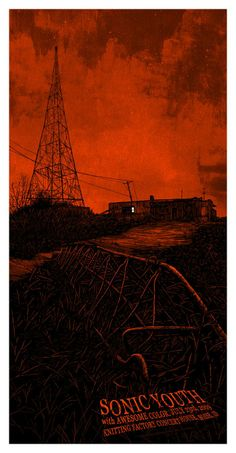 Sonic Youth, awesome colour | Daniel Danger