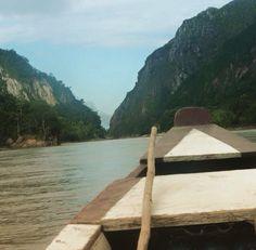 Sailing down the River Beni in the Amazon in Bolivia!!