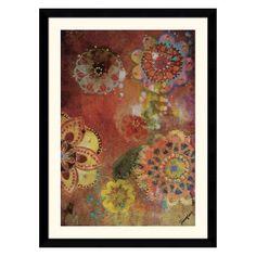 Rafflesia VI Framed Wall Art - 31.62W x 42.62H-inch
