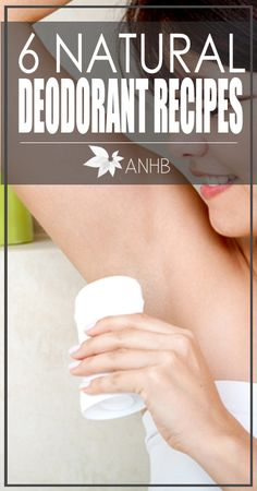 I've been wanting to try making my own deodorant. Here are 6 great recipes to try!