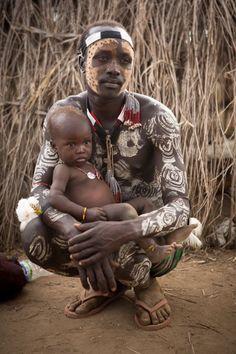 sandylamu:  Karo tribe, Omo Valley, Ethiopia