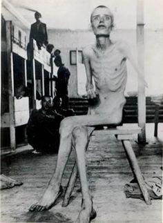 Vězeň koncentračního tábora Dachau
