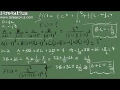 Ecuación Integral y transformada de laplace parte 2 Math Equations, Marketing, Laplace Transform, Finance, Science, Studio