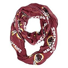 NFL Infinity Scarf by Littlearth via Amazon Color: Standard Color, Green, Black, Orange, Alternate Color, Plaid . Style Name: San Francisco 49ers, Cleveland Browns, Denver Broncos, Detroit Lions, Green Bay Packers, Buffalo Bills, Chicago Bears, Dallas Cowboys, Oakland Raiders, Miami Dolphins, Kansas City Chiefs, Washington Redskins, Tampa Bay Buccaneers, Philadelphia Eagles, Minnesota Vikings, Carolina Panthers, Indianapolis Colts, Cincinnati Bengals, San Diego Chargers, New Orleans Saints…