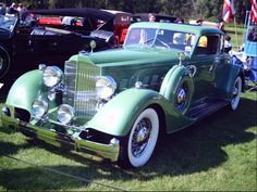 1934 Packard Model 1108 Dietrich Stationary Coupe: