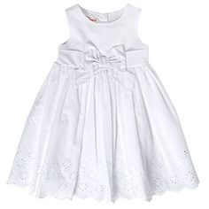 Gorgeous simple dress for flower girls, available at Debenhams!