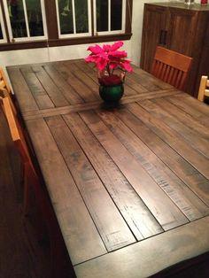 Tabletop Design. Rustic Wood Dining TableDiy ... Part 59