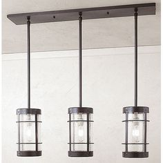 Valencia 3 Light Kitchen Island Pendant | Wayfair.ca