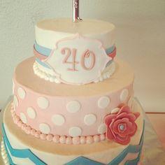 40th birthday cake!
