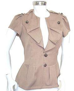 Blusas: m chaqueta. Corta-Blusas Mujer-Identificación del producto:263757572-spanish.alibaba.com
