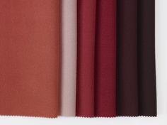 Dagny Fargestudio: Jostedal for Gudbrandsdalen Uldvarefabrik: Fig, Powder, Stella, Crimson Red, Plum og Copper Brown. Colours, Curtains, Interior, Home Decor, Blinds, Decoration Home, Indoor, Room Decor, Interiors