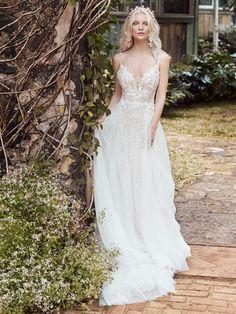 Perfect Wedding Dress, Dream Wedding Dresses, Boho Wedding Dress, Bridal Lace, Bridal Dresses, Wedding Gowns, Rose Wedding, Wedding Things, Wedding Wishes