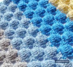Free Crochet Bobble Stitch Pattern