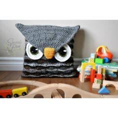 Owl Be Your Buddy Pillow Cover/Sleepover Bag Pattern This owl pillow cover will make the perfect addition to your child's room! The pillow cover is designed to be removable, allowing you to remove it for easy washing! Use the optional strap instructions to make this an exciting bag that is ideal for packing away everything needed for a sleepover! Please exercise both caution and common sense. Infants and younger children should not have throw pillows (or any pillow) in their beds while…