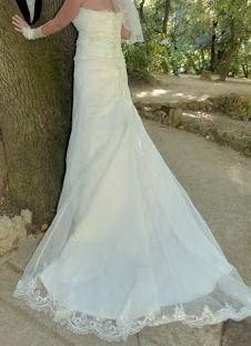 Robe de mariage T42 et accessoires mariée ivoires