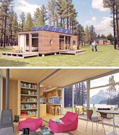 Modern cabin method homes cabin prefab modern architecture by balance associates - Meka shipping container homes ...