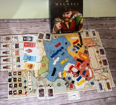 The Magnates: A Game of Power | Image | BoardGameGeek