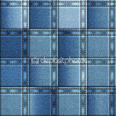Бесшовные фон денима. Лоскутное одеяло из джинсовой ткани — стоковая иллюстрация #100672462