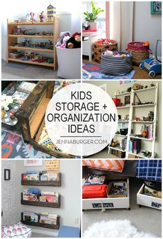 How I Organize My Kids Toys: TIPS + Unique EASY U0026 STYLISH For How I ·  Toddler RoomsPlayroom IdeasOrganization ...