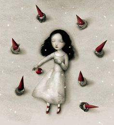 Snow Fall by Nicoletta Ceccoli