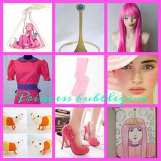 I made this for Princess bubblegum cosplay! Princess Bubblegum Cosplay, Bubble Gum, Disney Characters, Fictional Characters, Aurora Sleeping Beauty, Disney Princess, Fantasy Characters, Chewing Gum, Disney Princesses