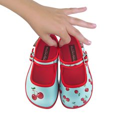 414e87e79155 Girl s Shoes - Manitas Boutique - Cherries Girls Shoes