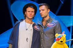 Pudd, Dougie Poynter and Harry Judd On Pointless For Children In Need. Dougie Poynter, Lost Without You, New Bands, Children In Need, Music Bands, My Childhood, Fangirl, My Favorite Things, Artists