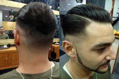 Degradación y afeitado en Richard's Barbershop Coruña  http://richardsalon.es/blog