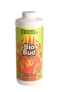 Hydrofarm GH5332 BioBud Bloom Booster, 1-Quart by Hydrofarm. $24.11. Bio bud provides flowering plants with minerals and amino acids. Available in 1-quart. Works in harmony with BioThrive bloom fertilizer as a bloom enhancer. It encourages profuse and abundant flowering and fruit production. This Bio Bud provides flowering plants with minerals and amino acids. It encourages profuse and abundant flowering and fruit production. BioBud works in harmony with BioThrive Bloom f...