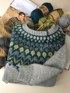 Scandinavian Knitwear – Awesome Homes Fair Isle Knitting, Knitting Yarn, Baby Knitting, Nordic Sweater, Icelandic Sweaters, Fair Isle Pattern, Double Knitting, Knit Or Crochet, Knitting Projects