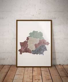 San Marino Region Map Poster Instant Download By MCartography - San marino map download