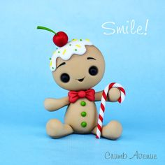 Gingerbread Man Topper by Crumb Avenue