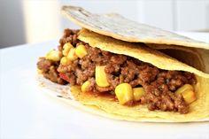 Gerechten zonder pakjes en zakjes #68. Mexicaanse dubbeldekkers & taco's van Honig Sandwiches, Tacos, Beef, Ethnic Recipes, Honey, Roll Up Sandwiches, Ox, Paninis, Steak