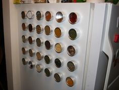 kinda neat spice rack idea