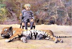 Indian Royal Hunting Portraits, 1899-1945
