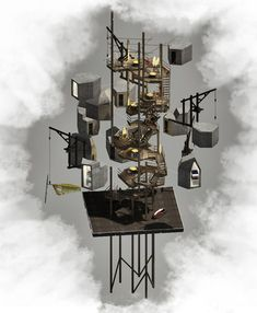 In Praise of Nests by Thomas Savage  http://www.dezeen.com/2013/06/03/in-praise-of-nests-and-other-things-by-thomas-savage/