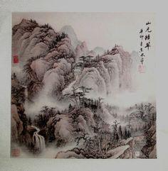 "http://maimaiwenhua.com/tienda/comprar-acuarela-tradicional-china/viveza-arte-chino    Acuarela tradicional china, ""La viveza de la montaña"" (生机勃勃 sheng ji bo bo).    Dimensiones: 50 cm x 50 cm.    Acuarela tradicional china, realizada a mano y sellada por el autor.     Compra auténtico arte tradicional chino en:    http://maimaiwenhua.com/tienda"