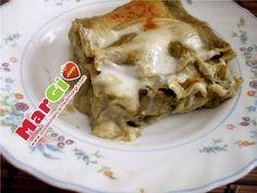 Lasagne con crema di carciofi, primi piatti gustosi