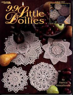 99 Little Doilies - Nicoleta Danaila - Álbuns da web do Picasa... BOOK AND WRITTEN PATTERNS!!