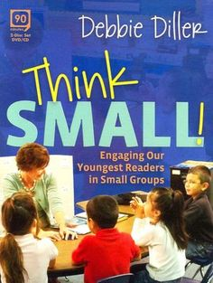 Chalk Talk: A Kindergarten Blog: The Guided Reading Guru: Debbie Diller.  Also check out her book on differentiation through small group instruction.  Excellent!