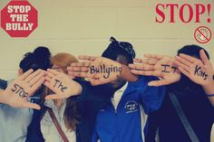 """Secondary students: """"An Art Campaign to End Bullying."""" Lesson combines lecture + discussion on bullying with opportunities to create anti-bullying posters. High School Counseling, Elementary Counseling, School Counselor, Anti Bullying Lessons, Stop Bullying, Bullying Posters, Anti Bullying Campaign, Bullying Prevention, Character Education"""