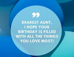Coming up with things to write in your aunt's birthday card is hard. With 120 ways to say happy birthday aunt. Birthday Quotes For Aunt, Birthday Wishes For Aunt, Best Happy Birthday Quotes, Birthday Wishes Cake, Happy Birthday Fun, Happy Birthday Images, Diy Birthday, Christian Birthday Wishes, Aunt Quotes