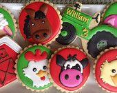 Farm Animal Sugar Cookie Collection