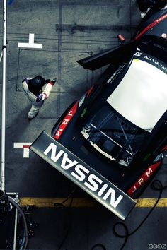 Nissan Blancpain GTR.