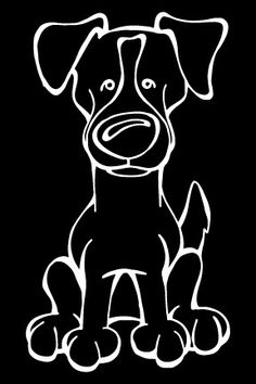 The Decal Dog of the Day is the Jack Russell Terrier  Every Dog has its Decal! Show off your love for your Soulmutt with a Decal Dog Car Window Sticker. And bark loud and proud by personalizing it with your dog's name! #decaldogs #dogsofpinterest  #JackRussellTerrier