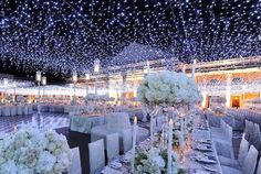 Beautiful stary night lights