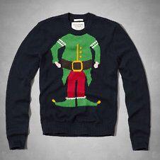 ELF Ugly Christmas Sweater. AF.