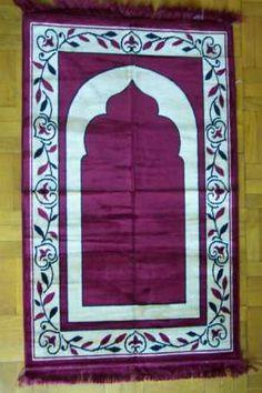 Hand-Tufted Woollen Prayer Rugs Prayer