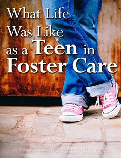 Today's guest post was written by my friend Jackie from LJSkool. She spent some of her youth as a teen in foster care where she was placed with a very caring foster mother. Foster Parenting, Parenting Books, Parenting Teens, Parenting Quotes, Parenting Advice, Parenting Styles, Foster Care Adoption, Foster To Adopt, Foster Kids